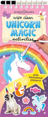 Wipe Clean Unicorn Magic Activities