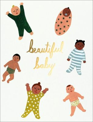 Beautiful Baby - Card