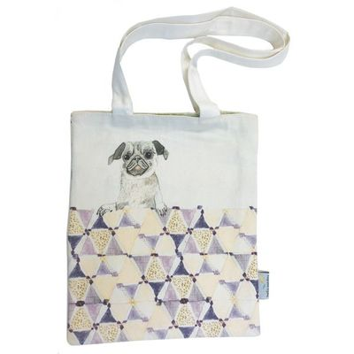 Book Bag Buzz the Dog - Medium Tote (HS-LB-TM-DP005)