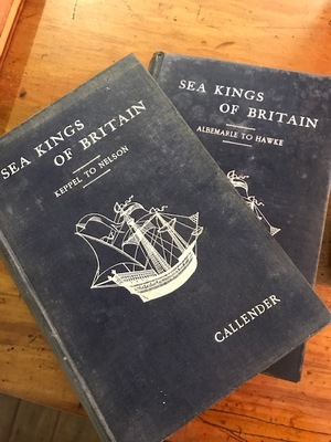 Sea Kings of Britain : Keppel to Nelson and Albemarle to Hawke