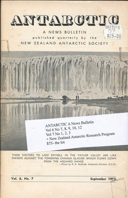 Antarctic - A News Bulletin