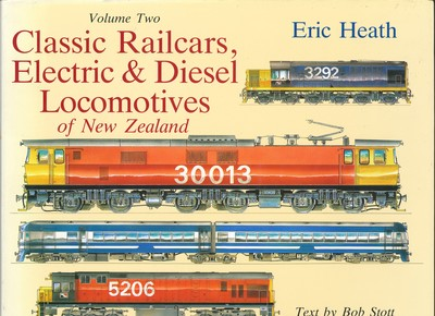Classic Railcars, Electric, & Diesil Locomotives of New Zealand