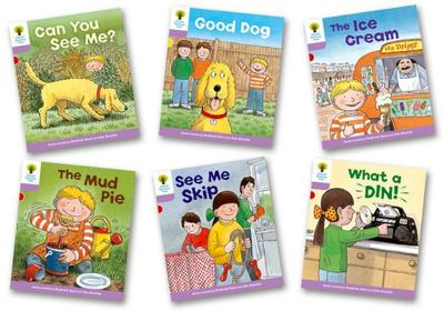 Biff Chip and Kipper Level 1+ More First Sentences C Pack of 6