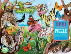Butterflies & Moths: 1000-piece Jigsaw Puzzle (EB-PZTBLM)