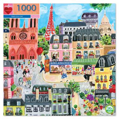 Paris in a Day 1000 Piece Jigsaw Puzzle