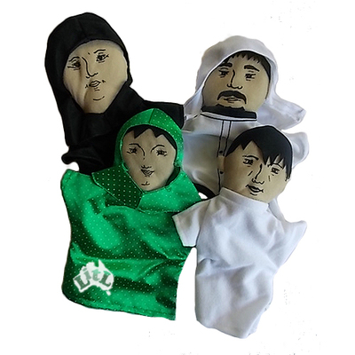 ARABIC FAMILY GLOVE PUPPETS