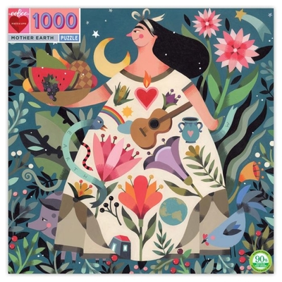 Mother Earth: 1000-piece Jigsaw Puzzle Eeboo