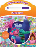 DreamWorks Trolls - Write-And-Erase Look and Find