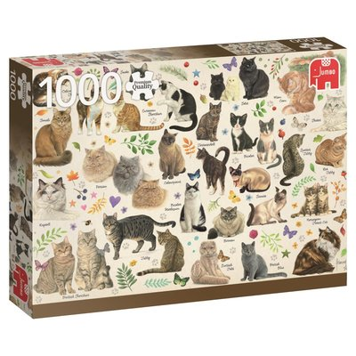 Large cats poster jigsaw puzzle 1000 pieces.63573 2.fs