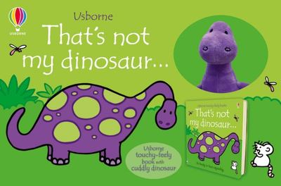 Thats Not My Dinosaur Book and Toy