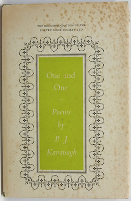 One and One: Poems by P. J. Kavanagh