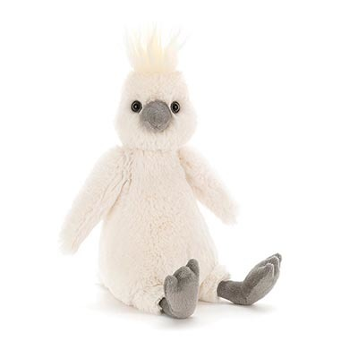 Jellycat Bashful Cockatoo Medium