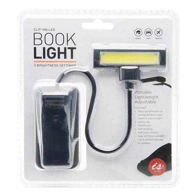 Large Clip On Book Light