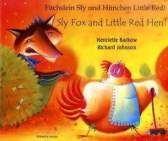 Sly Fox & the Little Red Hen (German & English)
