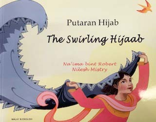 Swirling Hijab, The (Malay & English)
