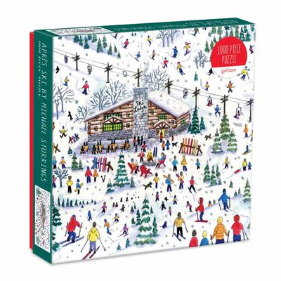 Apres Ski by Michael Storrings 1000 Piece Jigsaw Puzzle