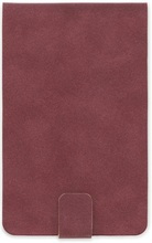 Homepage burgundy notebook