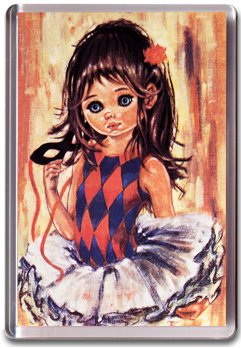 Kitsch Girl  Magnet
