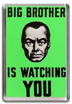 Big Brother Fridge Magnet