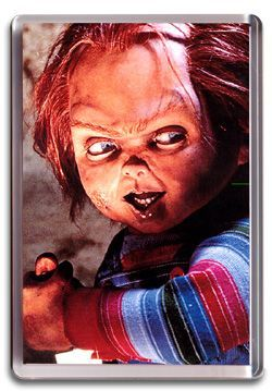 Chucky, Childs Play - Fridge Magnet
