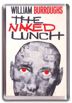 Naked Lunch - Fridge Magnet