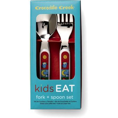 Croc Creek Cutlery Set Kids World