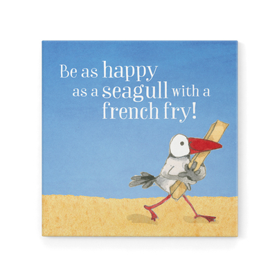 Magnet - Be as Happy as a Seagull
