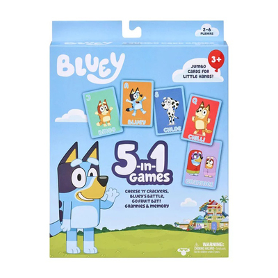 5-in-1 Card Game Bluey (13032)