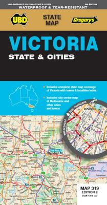 Victoria State and Cities Map 319 9th Ed (waterproof)