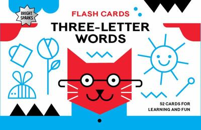 Bright Sparks Flash Cards - Three-Letter Words