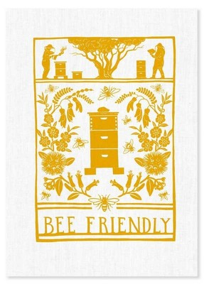 Tea Towel - Bee Friendly