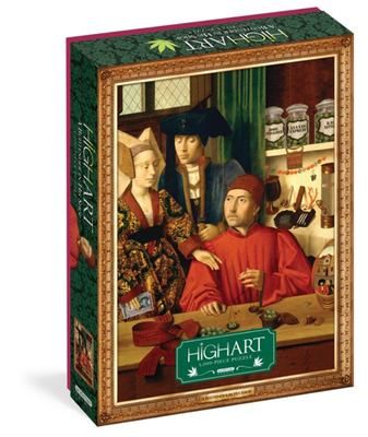 High Art - A Budtender in His Shop: 1000-piece Jigsaw Puzzle / Workman