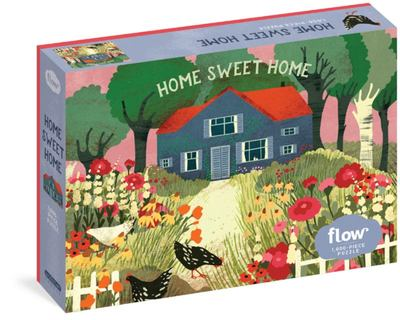 Home Sweet Home: 1000-piece Jigsaw Puzzle / Flow and Workman