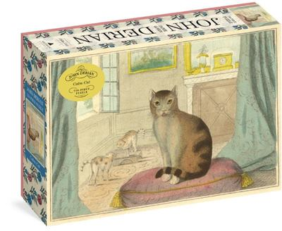 Calm Cat: 750-piece Jigsaw Puzzle (John Derian Paper Goods)