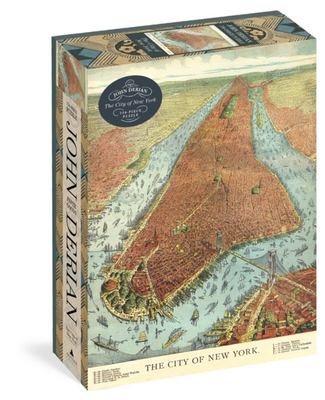 John Derian Paper Goods: the City of New York 750pc Puzzle