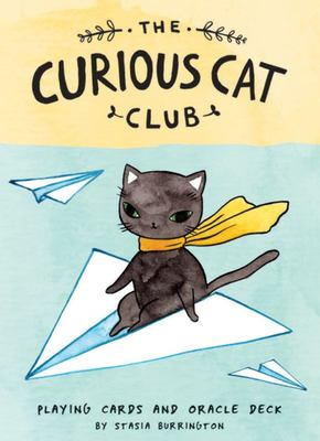 The Curious Cat Club Deck: Playing Cards and Oracle Deck
