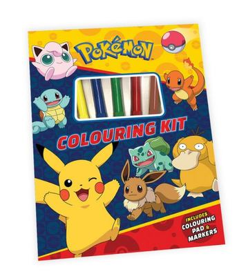 Pokemon: Colouring Kit
