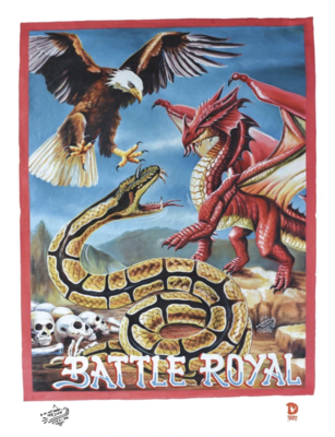 Battle Royal Serpent Ghana Movie Poster Print