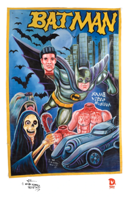 Batman Ghana Movie Poster Print