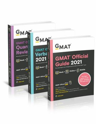 GMAT Official Guide 2021 Bundle, Books + Online Question Bank