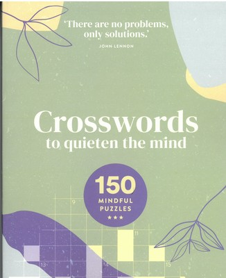 Large crosswords to quieten the mind