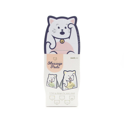 Lucky Cat Message Pad
