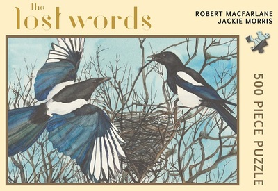Lost Words Jigsaw Puzzle: Magpie
