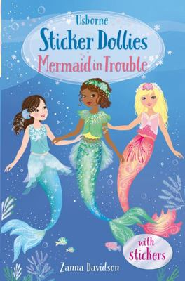 Sticker Dollies: Mermaid in Trouble