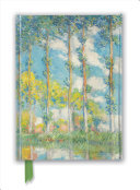 Claude Monet: the Poplars (Foiled Journal)