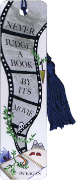 Bookmark - Never Judge a book by movie