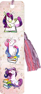 Bookmark - Unicorns Reading