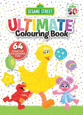 Sesame Street: Ultimate Colouring Book