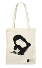 Homepage tote bags reading