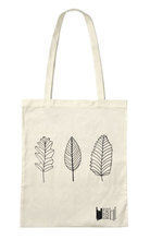 Homepage tote bags leaves